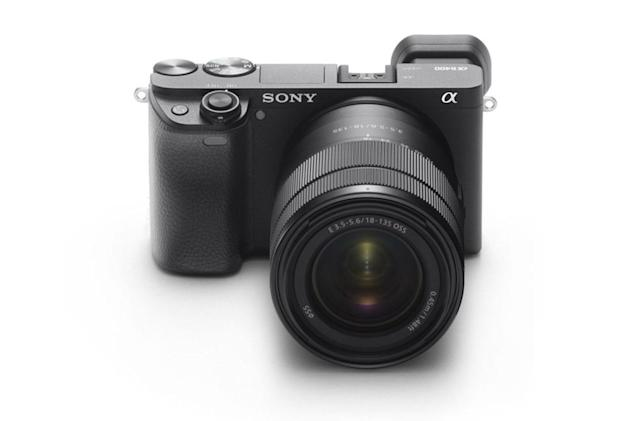 Sony's mid-range A6400 mirrorless camera is ideal for vloggers