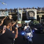3 funeral workers fired over Maradona coffin photos