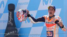 Marquez extends MotoGP lead in Aragon, Lorenzo  crashes