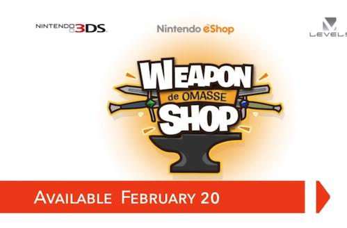 New Nintendo eShop releases: Donkey Kong Country Tropical Freeze, Weapon Shop de Omasse