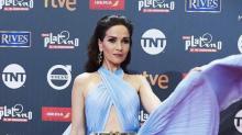 Natalia Oreiro impactó con su vestido en la red carpet de los Premios Latino