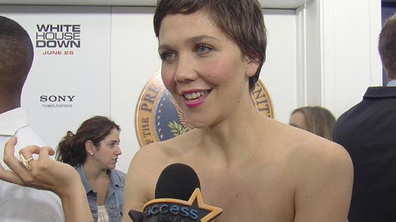 Maggie Gyllenhaal's 'White House Down' NYC Premiere