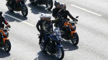 Brazil's Bolsonaro fined for maskless motorcyle rally