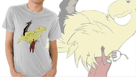 This Chocobo shirt is something we would like to own