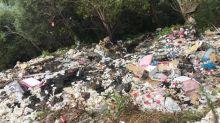 遊客攻陷亂掉垃圾 新竹最美原住民部落成垃圾山