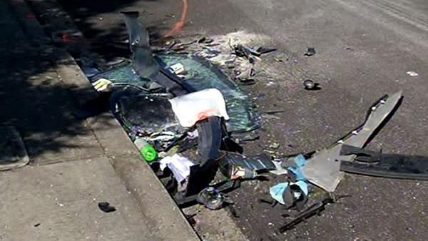 Daly City crash leaves three dead, one injured