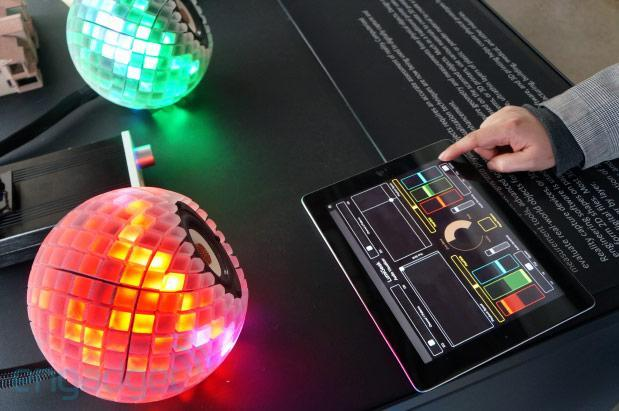 3D printed speakers give you a custom light show to go with your tunes (video)
