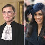 'Honor her, remember her, act for her': Meghan Markle calls Supreme Court Justice Ruth Bader Ginsburg 'a true inspiration'