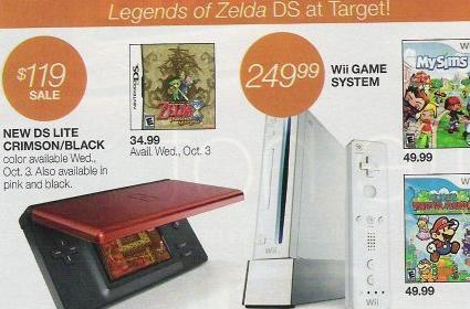 Go to Target for the new DS Lite, save $10