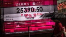 El Hang Seng vuelve a caer y registra su peor racha en seis semanas