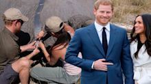 Meghan and Harry share a previously unseen photo from before they were married