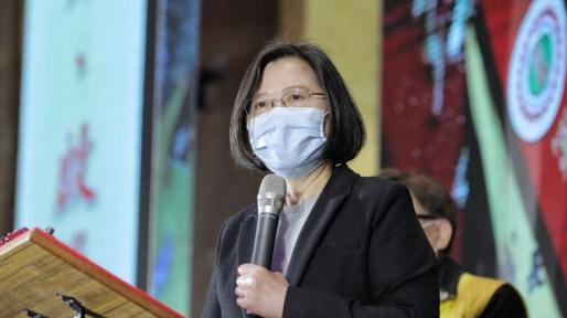 首度表態!蔡英文批中國傷害香港強調反一國兩制是台灣共識