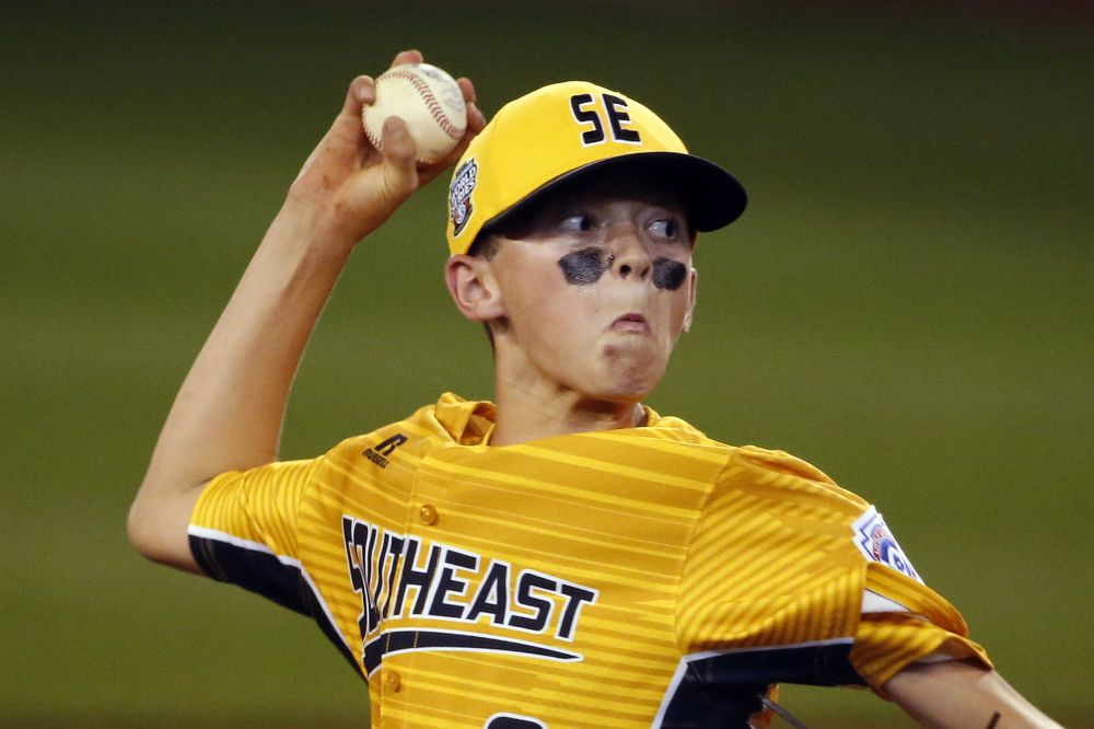 Chase Anderson was the starting pitcher as Greenville, N.C. made history with a combined perfect game at the LLWS. (AP)