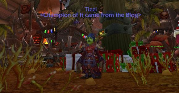Reminder: It came from the Blog's Winter Veil 2013 is tomorrow