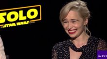 Emilia Clarke calls Brad Pitt's $120K bid to watch 'Game of Thrones' with her the 'weirdest experience of my entire life'