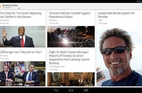 Google updates Currents app, adds breaking news, quick Edition browsing and more