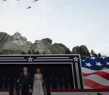Trump sows division at Mount Rushmore speech as U.S. grapples with crises