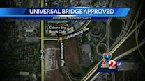 Tax dollars approved for $9M Universal Studios bridge
