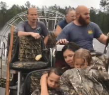 Hurricane Florence: Desperate Woman, Who Is 8 Months Pregnant, Rescued From Rising Floodwaters