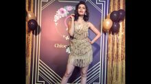 Wow! Karishma Tanna Nails The Gatsby Look With This Golden Dress