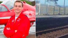 Red Arrows crash: First picture of pilot who miraculously survived as RAF confirm death of crewmate