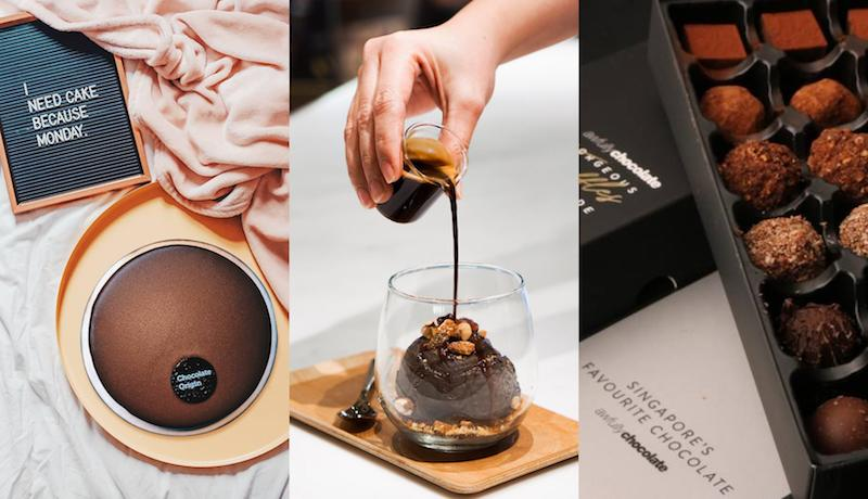 Crazy for chocolate: 5 dessert cafes in Singapore to get cakes, ice cream, tarts, and more