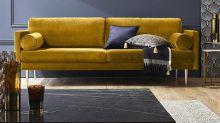 El mostaza llega a la decoración: un color otoñal y de textura suave