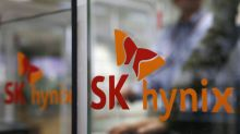 SK Hynix shares fall on demand worries after U.S. curbs on Huawei chip supply