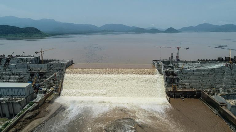 Ethiopia said on July 21 it had hit its first-year target for filling the Grand Ethiopian Renaissance Dam, a concrete colossus 145 metres (475 feet) high that has stoked tensions with downstream neighbours Egypt and Sudan