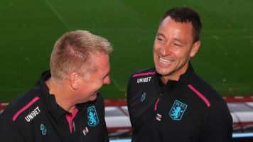 Aston Villa manager Dean Smith insists he had the final say on John Terry's appointment