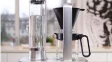 Make your fancy coffee and drink it too— with 75 percent off this gorgeous brewer