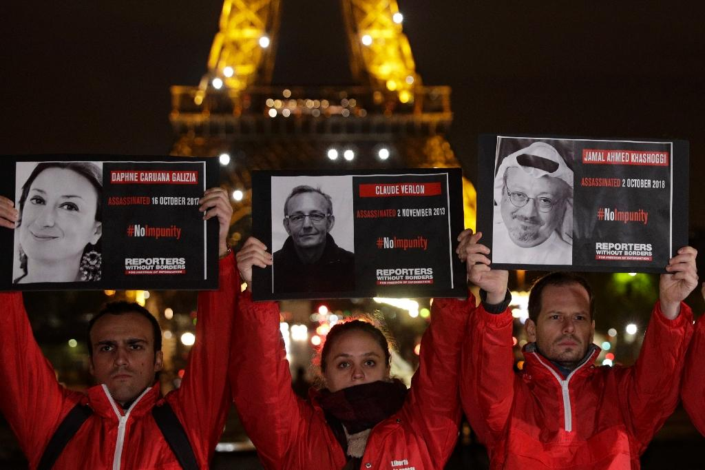 Some 63 journalists, 11 citizen journalists and four media assistants have been killed so far in 2018, including Washington Post contributor Jamal Khashoggi, according to RSF