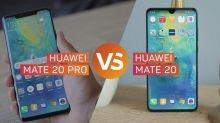 Huawei Mate 20 Pro vs. Huawei Mate 20: ¿Cuáles son las diferencias?