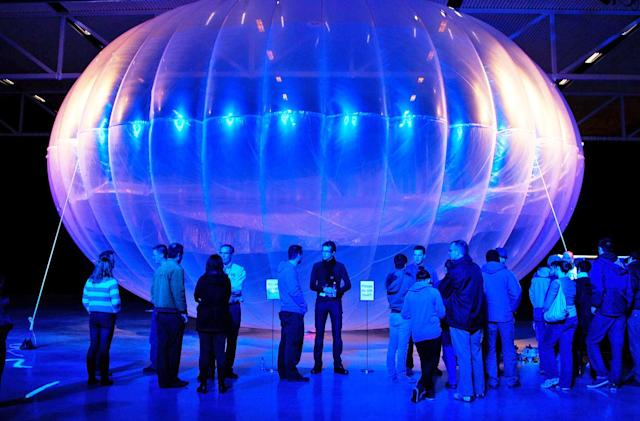 Alphabet's internet balloon chief leaves after 6 months