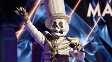 A bone-crushing defeat: Eliminated 'Masked Singer' Skeleton is late-night TV legend
