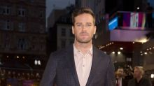Armie Hammer on seeking therapy: 'It gave me a fresh perspective'
