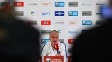 French football boss Deschamps refuses to be drawn on exiled Benzema