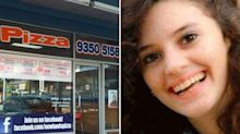 Pizza shop praised for touching message after student's brutal death