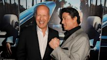 Sylvester Stallone revisits wild motorcycle ride with Bruce Willis and David Letterman
