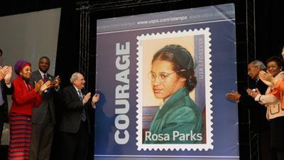Rosa Parks Stamp Issued on Her 100th Birthday