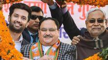BJP-JD(U) reach 50:50 seat-sharing deal in Bihar, say reports
