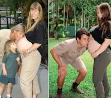 Bindi Irwin re-created a photo of her parents in a sweet pregnancy post