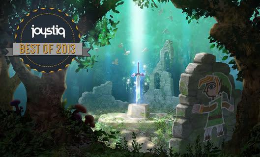 Joystiq Top 10 of 2013: The Legend of Zelda: A Link Between Worlds