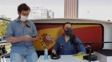 """Abascal anima a """"salir a la calle"""" en plena pandemia mientras acusa al Gobierno de cometer """"un crimen contra la salud"""""""