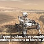 Three Countries Are Launching Missions to Mars in July