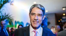 William Bonner sofre campanha de intimidação com uso de dados de sua família, diz Globo
