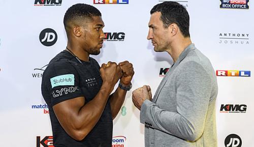 Boxen: HBO und Showtime übertragen Klitschko-Kampf gegen Joshua