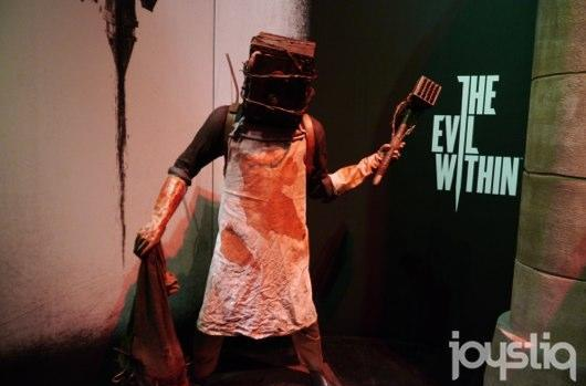Seen@E3: The Evil Within's terrifying blockhead