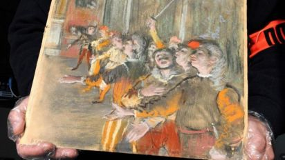 Stolen Edgar Degas painting worth £700,000 found on a bus