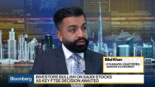 StanChart's Khan Sees Saudi Arabia Emerging From Recession in 2018